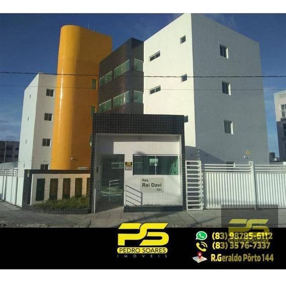 Apartamento Com 2 Dormitórios À Venda, 57 M² Por R$ 120.000 - Valentina - João Pessoa/pb - Ap1713
