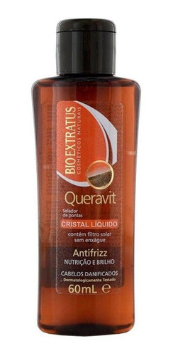 Imagem 1 de 1 de Bio Extratus Queravit Cristal Liquido 60ml