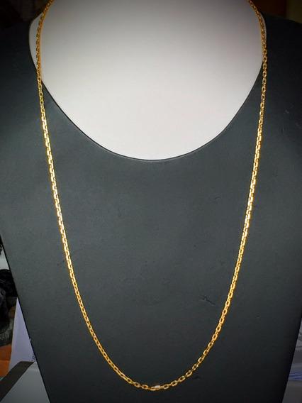 Colar Em Ouro 18k (750) 9.9gr.comp. 60cm.unisex E Lindo.
