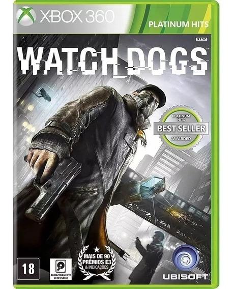 Watch Dogs Xbox360 Português Mídia Física Novo Frete Grátis
