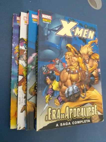 X-men A Era Do Apocalipse C/ Vol 1,2 E 3