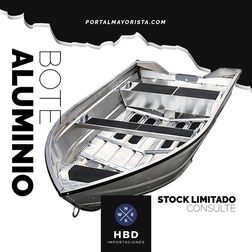 Bote Aluminio Deport Hit 3.00 Mts