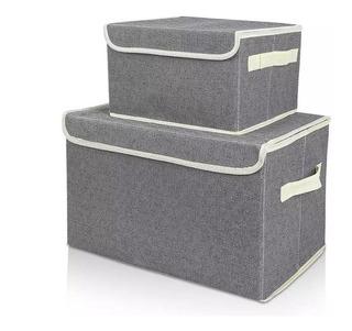 Caja Organizadora Placard Ropa Accesorios 25x20x17 Alto