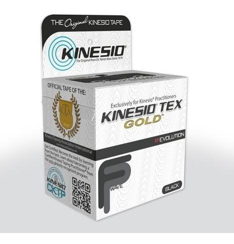 Venda Taping Kinesio Tape Theraband Rollo 5cm X 5mts Negra