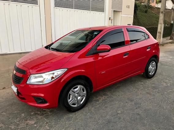 Chevrolet Onix 1.0 Ls 2015/2016 Vermelho 5 Portas