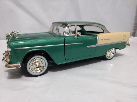 Chevy Bel Air 1955 Escala 1/24 Usada Importada Alemanha