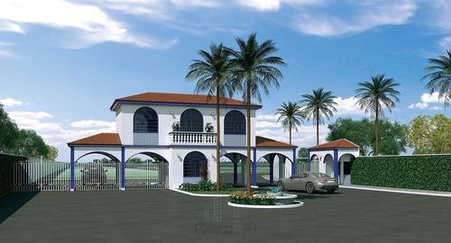 Imagem 1 de 11 de Terreno A Venda Cond. Residencial Jd. Sol Sorocaba - Tc-0214-1