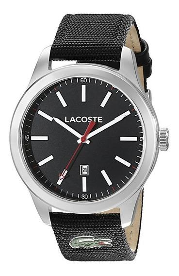 Reloj Lacoste Auckland Nylon Negro Acero Hombre 2010778