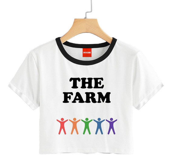 Blusa Riverdale Archie The Farm Playera Dama Niña Crop #710
