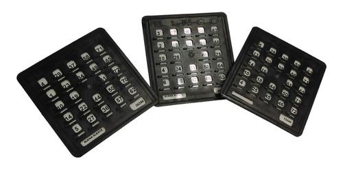 Tablas De Bingo Plásticas X 10 Unidades