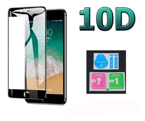 Vidrio Templado Protector Pantalla 9h iPhone 6, 6s, 7, 8