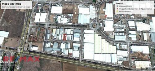 Terreno En Renta En El Parque Industrial Del Valle De Aguascalientes Piva