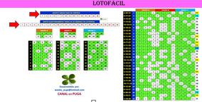 Planilha Lotofacil - 25 Dezenas Com Redução