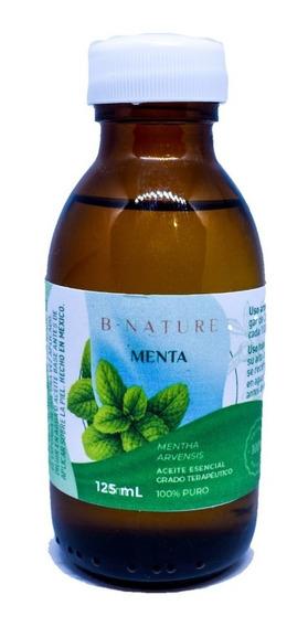 Aceite Esencial 100% Puro Menta Arvensis 100 Ml Bnature