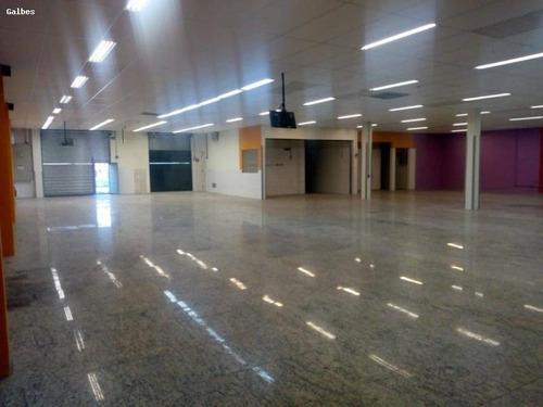 Salão Comercial Para Locação Em São Bernardo Do Campo, Baeta Neves, 2 Banheiros - 2000/2726_1-1376417