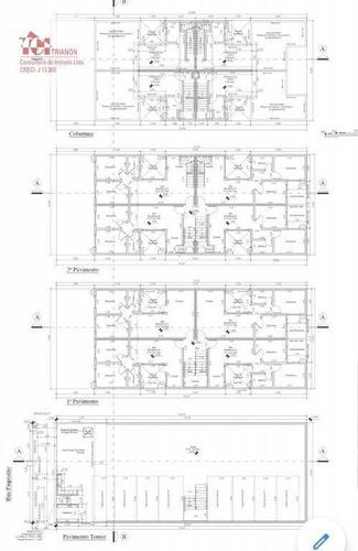 Cobertura Com 2 Dormitórios À Venda, 66 M² Por R$ 320.000,00 - Parque Capuava - Santo André/sp - Co0896