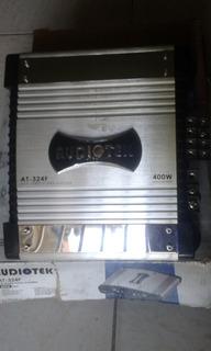Amplificador De Sonido Audiotek 400 Watts At-324f