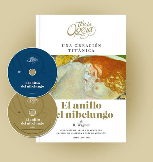 Anillo Nibelungo Wagner - This Is Opera N° 15 - Libro Cd Dvd