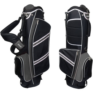 Bolsa Para Golf Nitro, Liviano, Color Negro- Plateado