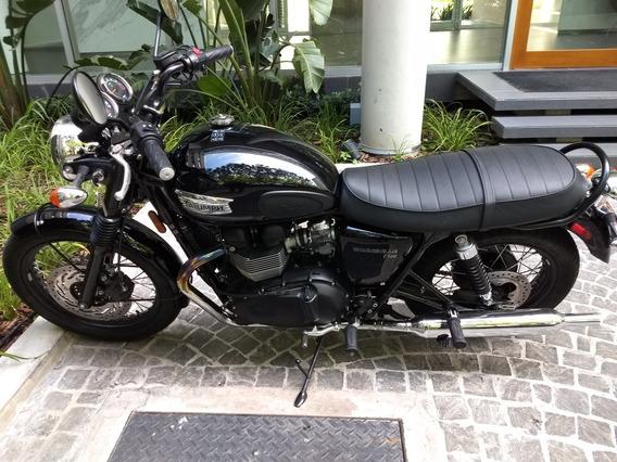Triumph Bonnevile T100 Edición Limitada Black