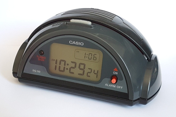 Relogio Casio Dq-110 Turbo Alarm