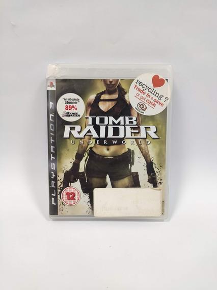 Tomb Raider Underworld Ps3 Seminovo Usado