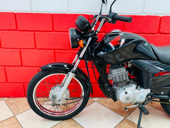 Honda Cg 125 Fan Es - 2012 - Financiamos - Km 36.000