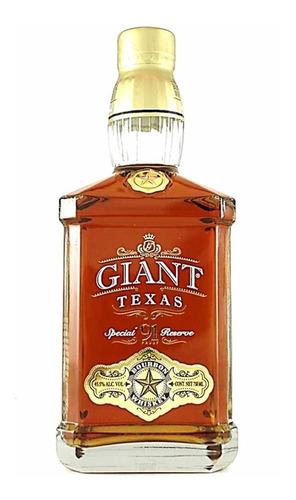 Whisky Giant Texas Special Bourbon 750ml