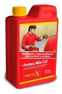 Protex Mix Cal Plastificante X 1litro - Aditivos Mezcla