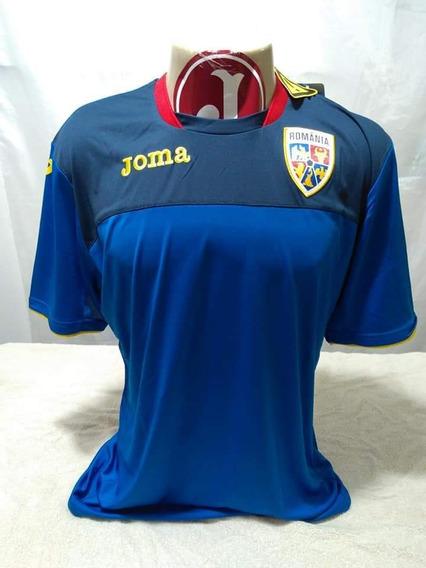Camisa Seleção Romênia Joma Novo Etiqueta