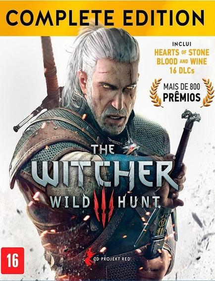 The Witcher 3 Complete Pc Original - Gog Key (envio Já)