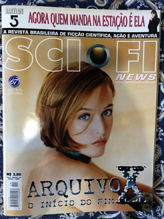 Revista Sci-fi News Ano 2 Nº 19 Março 1999 Gillian Anderson