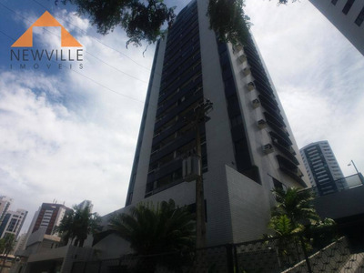 Apartamento Com 3 Dormitórios Para Alugar, 115 M² Por R$ 1.600/mês - Boa Viagem - Recife/pe - Ap1490