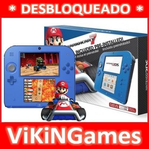 Nintendo 2ds Semi Novo Edição Especial