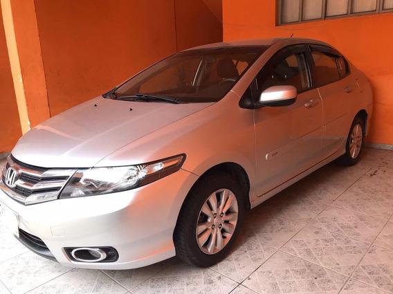 Honda City 1.5 Flex_ Ár, Direção Elétrica, Banco De Couto.