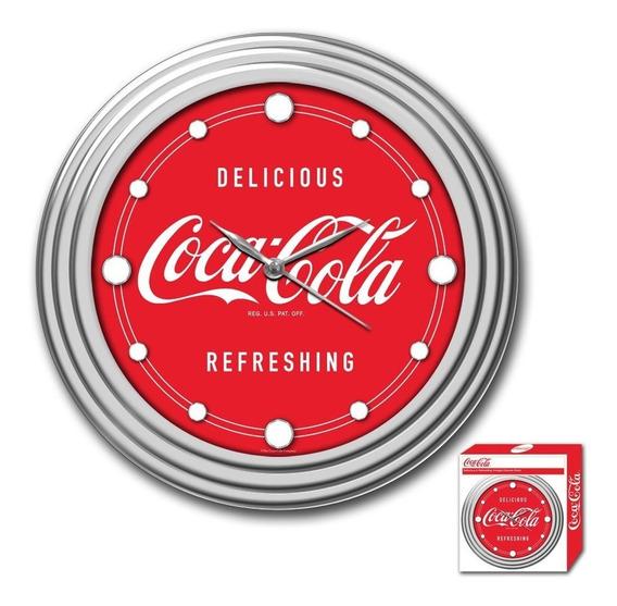 Reloj De Pared 12 Pulgadas Diseño Coca Cola Redondo Hm4