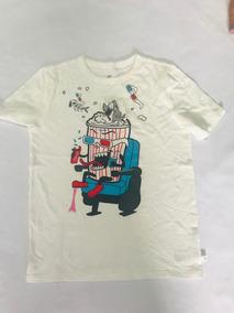 Gap Camiseta Menino 12-13 Anos Pipoca Manga Curta