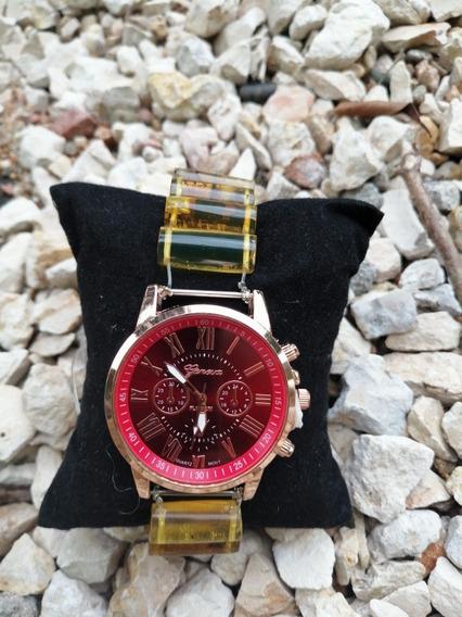 Reloj Geneva Extensible Ámbar