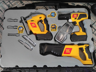 Set De Herramientas Electricas Tool Tech Toys Juguete Niño