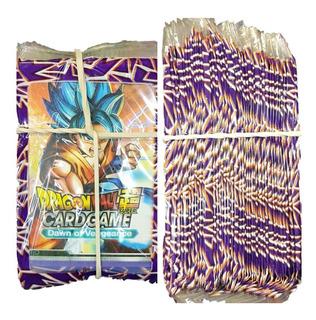 Card Game Dragon Ball Z Gt Colecao + De 48 Pacotes Fechado