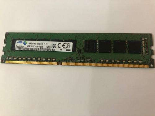 Imagem 1 de 3 de Memoria Servidor 8gb Pc3-10600e Ecc Udimm Hp Ml310e Dell T110 2 Ibm X3100 M4
