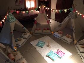 Pijama Party - Carpas Tipi- Armado Y Ambientacion