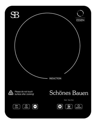 Schönes Bauen Parrilla Eléctrica De Inducción Essen 1 Zona