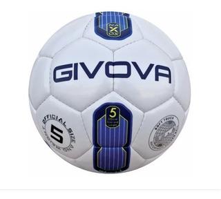 Pelota Fútbol 11 Cancha Nº5 Givova Cosida A Mano Mvd Sport