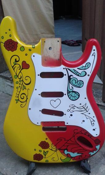 Corpo Pintura Jimi Hendrix Monterey