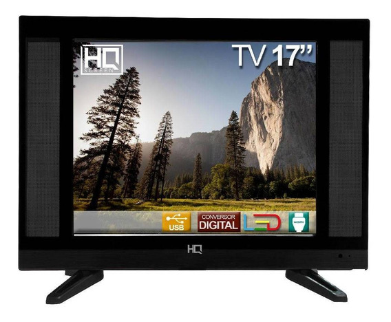 Tv Led 17 Hq Conversor Digital Hqtv17 Hdmi Usb