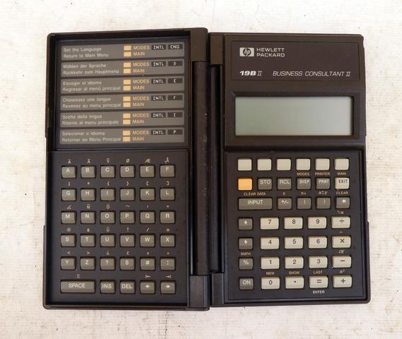 Calculadora Financeira Hp 19bii / Business Consultant 2