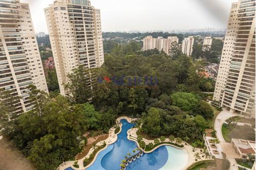 Apartamento Com Vista Privilegiada, Cond. Domínio Marajoara, 223m², Pronto Para Morar! - Mc8547