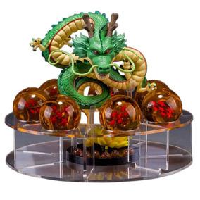 Esferas Del Dragon Acrilicas Con Sheng Long Hd Y Soporte
