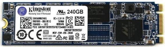 Hard Disk Ssd M.2 240gb Kingston Suv500m8/240g